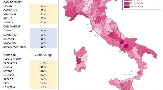 Marche Cartina Province.Mappe Coronavirus Province Italiane Al 5 4 20 Associazione Analisti Ambientali